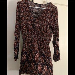 Windsor long sleeve dress
